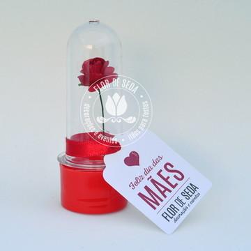 Lembrancinha Mini Rosa Dia Mães 300 uni