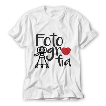 Camiseta Profissão - Fotografia