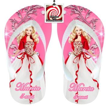 Barbie Princesa Sandália Lembrancinha