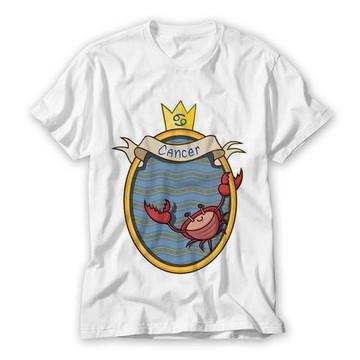 Camiseta Signo Câncer