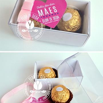 Caixa bombom Ferrero Rocher Dia das Mães