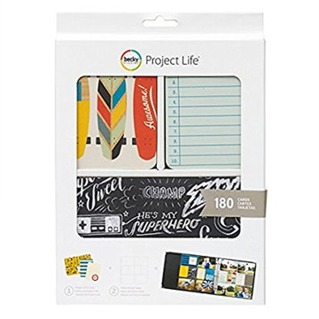 Cards Becky Project Life - PL00102