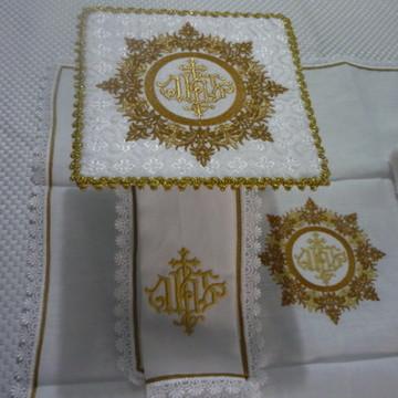 Alfaias IHS Luxo - dourado