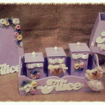 Kit higiene flores e ursa