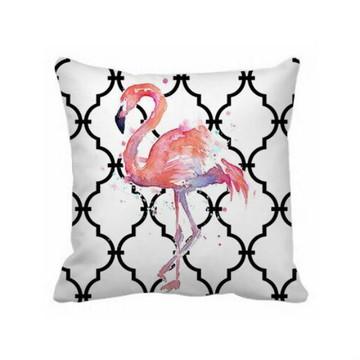 Almofada Marroquina Flamingo - Capa