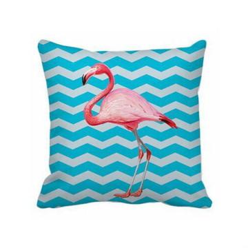 Almofada Chevron Flamingo - Capa