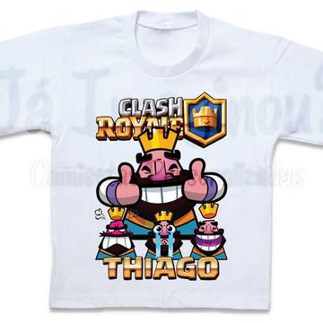 Camiseta Clash Royale Kings