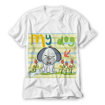 Camiseta Infantil My Dog
