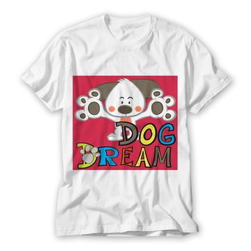 Camiseta Infantil Dog Dream