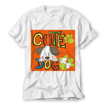 Camiseta Infantil Cute Dog