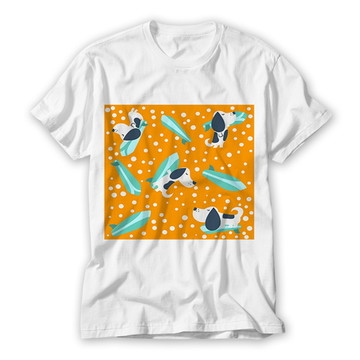 Camiseta Infantil Dogs