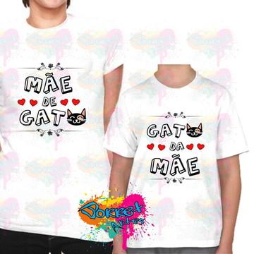 Camisa Tal Mãe Tal Filho - Mãe de Gato