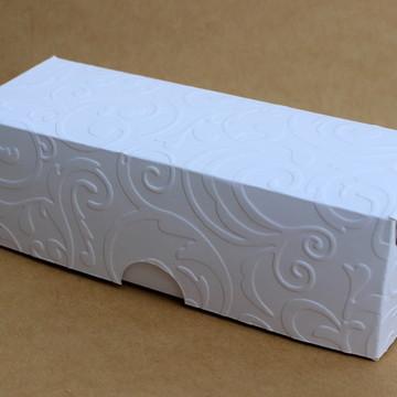 Caixa para três trufas 4,5x4x12,5cm