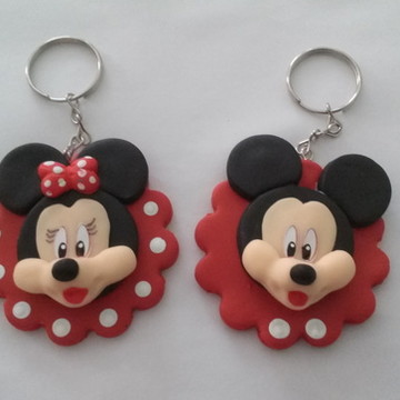 Chaveiro Minnie ou Mickey