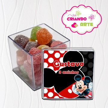 Caixinha de Acrílico Mickey mouse