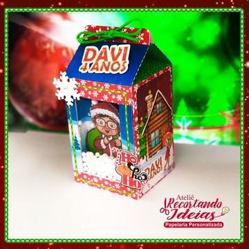 Caixa Milk - Papai Noel