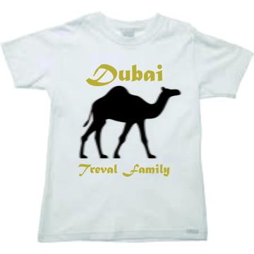 Camiseta para viagem Dubai