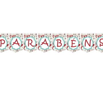 Bandeirola Tema Paris