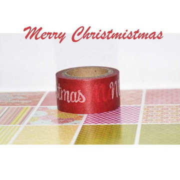Washi Tape Merry Christmas Recollections - W00783a