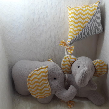 Kit elefantinhos fofos