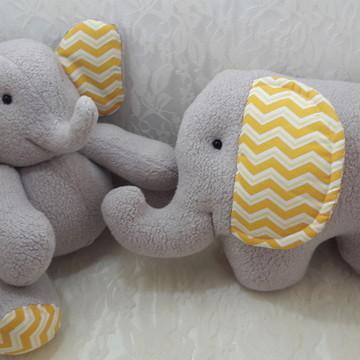 Elefante almofada e elefantinho