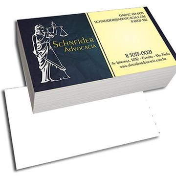 1000 Cartões de Visita 4x0 Reto