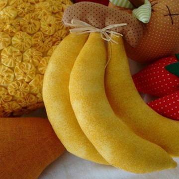 Banana em tecido