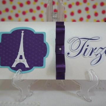 Convite de 15 anos - Paris