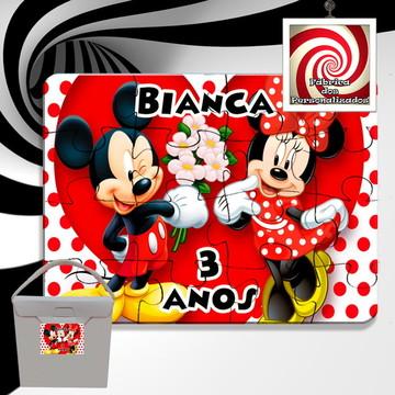 Quebra Cabeça Lembrancinha Mickey