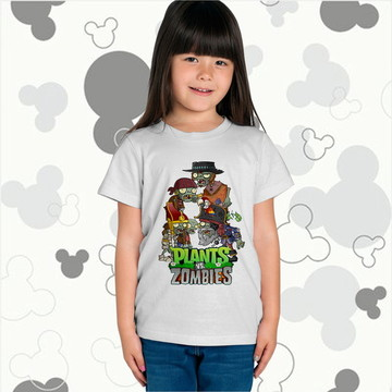 Camiseta Plants vs Zombies