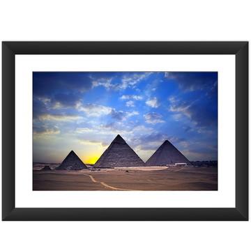 Quadro Piramides Egito Cidades Famosas