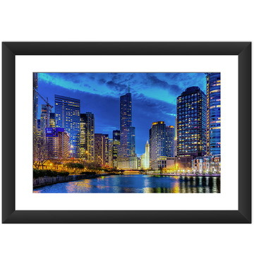 Quadro Chicago Trump Tower Cidades Arte