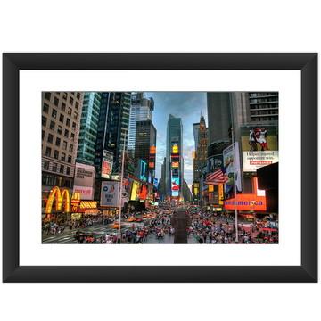 Quadro Times Square Nova York Cidade EUA