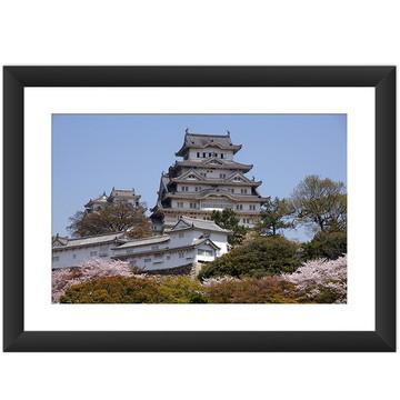 Quadro Japao Castelo Oriental Arte Asia