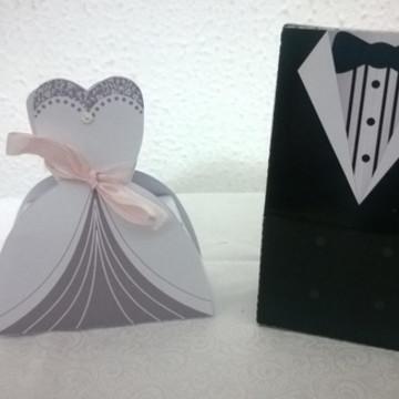 Caixa Noivo e Noiva - Casamento