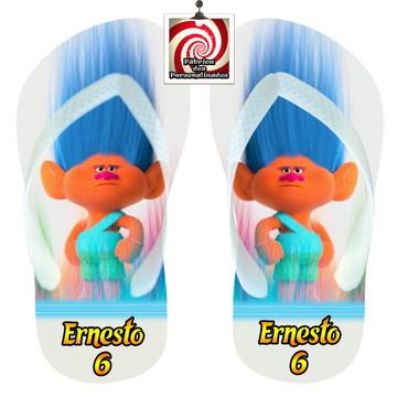 Trolls Sandália Personalizada Brinde