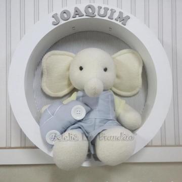 Porta Maternidade Elefante sem leds
