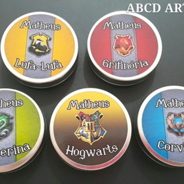 Latinha mint to be Hary Potter