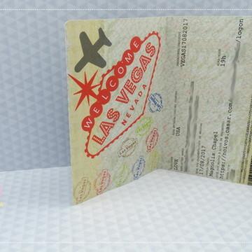 Convite Passaporte - Las Vegas