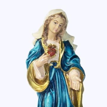 Imagem Sagrado Coração de Maria 20cm