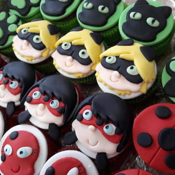 Mini cupcake Miraculous Ladybug