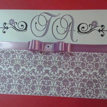 Convite de casamento Especial