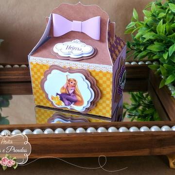 Caixa Lanchinho Enrolados/ Rapunzel