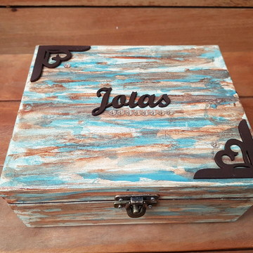 0278 Caixa Jóias | Pronta entrega