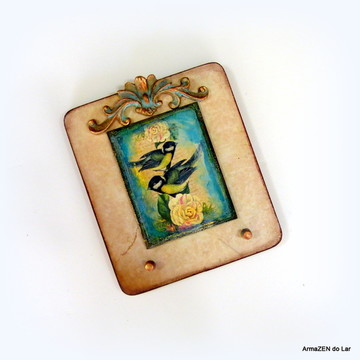 Porta chaves Birds Nude - UNIDADE