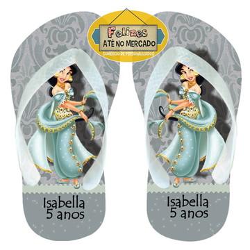 Chinelo Aladin Brinde Princesa Jasmine