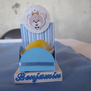 Base para forminha de doce Urso realeza