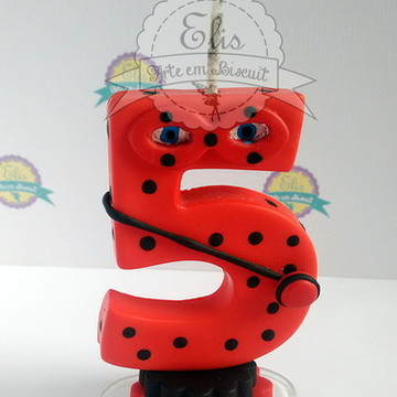 Vela Biscuit - Lady Bug - Miraculous