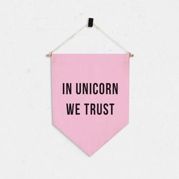 Bandeirinha Unicorn