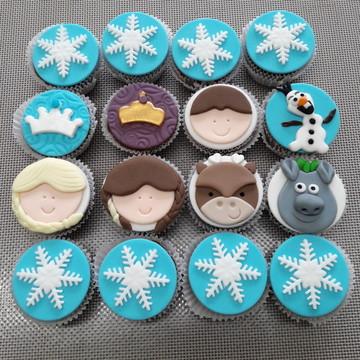 Mini cupcake Frozen